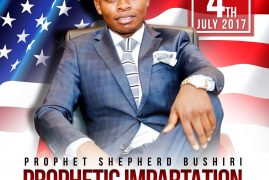 ECG AMERICA:Prophet Shepherd Bushiri PROPHETIC IMPARTATION for prosperity through entrepreneurship Tue.July 4th 2017 Dallas Texas