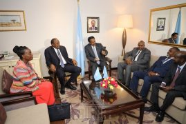 Kenya, Somalia agree to restore ties after spat over oil rights(Photos)