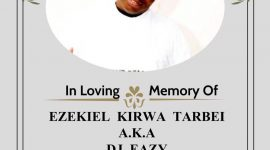 "It's with extremely heavy hearts that we announce the sudden death of our dear brother and friend, Ezekiel Kirwa well known as ""Ezythedj Ezy"" of Worcester MA"