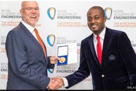 Cameroon's Cardiopad inventor wins African engineering award