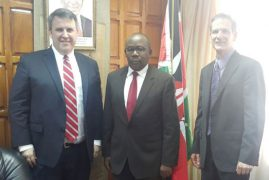 US pledges mutual legal assistance to Kenya