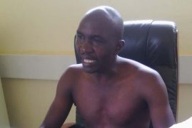 Kenyan MCA Addresses Press Conference NAKED To Protest Ruto's Insult On Raila