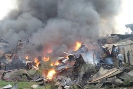 (VIDEO) More Than Half of Gikomba Market Razed In Broad Daylight