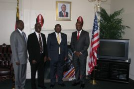 Ambassador Robinson Githae Meets with Cytonn MD Edwin H. Dande & Cytonn Directors