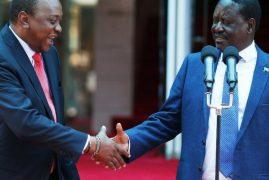 Uhuru, Raila Invited to the US to Speak About their Handshake