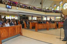 Thank you for anti-ICC prayers, President tells Kenyans