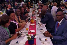 Photos:Ongoing Global Entrepreneurship Summit delegates dinner @ KICC,Nairobi Kenya