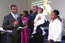 Photos/VIDEO: Child Dedication Service @ Well of Worship Center,Dracut,MA