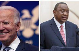 Details of Uhuru's Phone Conversation With US President-Elect Joe Biden