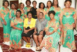Kenya New England Women Celebrate Mothers Day Dinner in Style
