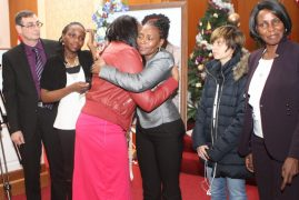 VIDEO:Tearful moments as Kenyans hold Memorial Service for Dennis Njoroge, Northeastern University, Student who had gone missing