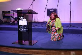 Ruth Wamuyu Wikaga Maundu Manene @ Well of Worship Center Dracut,Massachusetts