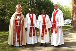 Anglican Bishop presides over the Blessing and official opening of New Kenyan Church Building in Sutton,Massachusetts