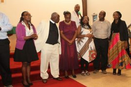 Unity displayed in a colorful ordination party of Rev Johnson Macharia Irungu in Reading Massachusetts