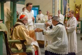 Photos:Cardinal O'Malley helps celebrate  Saint Andrew's N.Billerica 150th Anniversary Mass & Celebration
