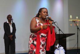 "Vicky Kitonga give Kenyans a taste of her latest song""Amenikumbuka"""