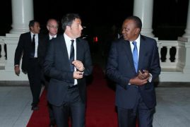 Italian PM In Kenya For Two-Day Visit
