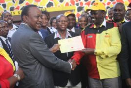 [VIDEO] President Kenyatta, CS Nkaisssery endorses JAP candidate for Kajiado Central