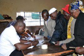 All ID bearing Jubilee Party members eligible to vote in primaries