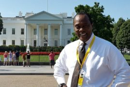 JEFF KOINANGE among local journalists to interview OBAMA.