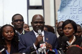 IEBC servers, networks totally secure, Chebukati says