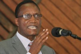 Education Cabinet secretary Jacob Kaimenyi releases 2014 KCSE results of over 450, 000 candidates, cites improvement in performance
