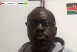 Kenyan student in Wuhan: We survive on one meal a day