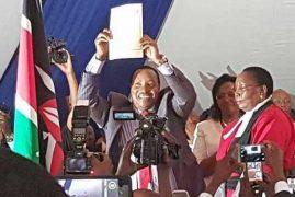 Waititu takes over as Kiambu governor
