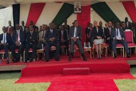 Kibaki: Uhuru is doing great, but there are people who do not wish him well