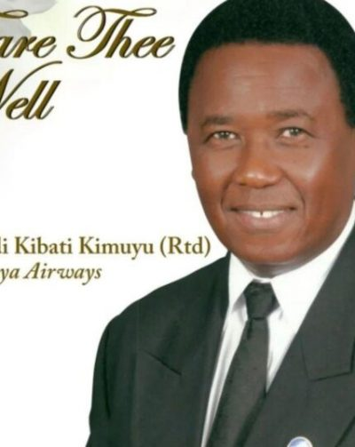 Covid-19: Hero KQ Pilot Laid To Rest