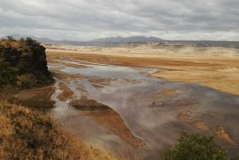 How Siltation Is Gradually Choking Lake Magadi