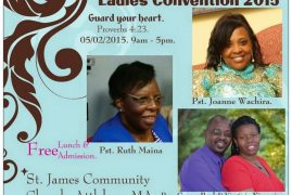 Ladies Convention 2015: St,James Community Church,Attleboro,MA May 2  2015 9AM to 5PM