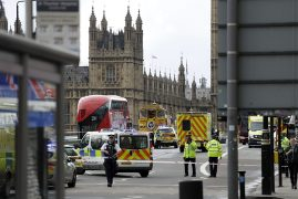 London attack: Four dead in Westminster terror incident