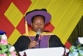 BISHOP MUYA AWARDED A HONORARY DOCTORATE