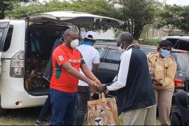 Mahiga Homes Feeds The Needy-Relief Food Distribution