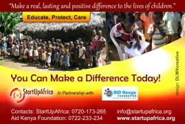 Help Afflicted Children in Milalani Village, Mombasa