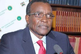 JUSTICE MARAGA IS JSC'S PICK FOR NEW CHIEF JUSTICE