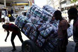 Second hand clothes imports hit new record
