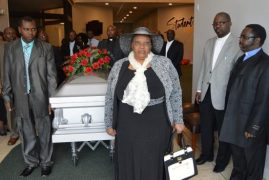 Video|Photos:Family, Friends & Diaspora Pay Last Respects to 77 year old Bishop Pius Macharia