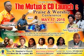 The Mutua's CD Launch and Praise & Worship Conference