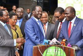 Only IEBC to announce poll results, Opposition can monitor, tally outcome