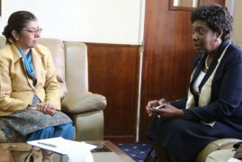 Kitui governor Ngilu explores partnership opportunities with India
