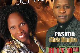 Kenya's Gospel Artist based in Atlanta, Georgia is taking Kigooco to Germany on July 10th, 2016