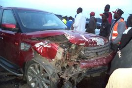 (PICTURES) Police Defend Pastor Ng'ang'a Of Neno Evangelism After His Car Kills Motorist
