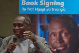 Ngugi wa Thiong'o ditches Swedish book fair over far-right newspaper Nya Tider