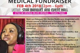 Urgent Appeal: Medical Fundraiser For Njoki Wa Ndegwa