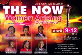 The Now Women Arising Conference in Seattle, WA