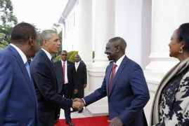 Obama Meets Ruto; Tracing DP's Whereabouts During US Leader's Visit
