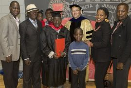 48 Years Later, 82-Year-Old Kenyan Man Returns to the US to Graduate with a Master's Degree in Political Science