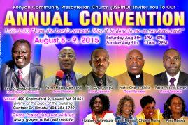 (Ushindi) Kenyan Community Presbyterian Church Annual Convention
